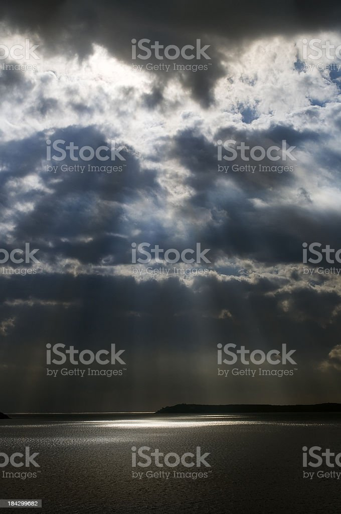 Sormy afternoon royalty-free stock photo