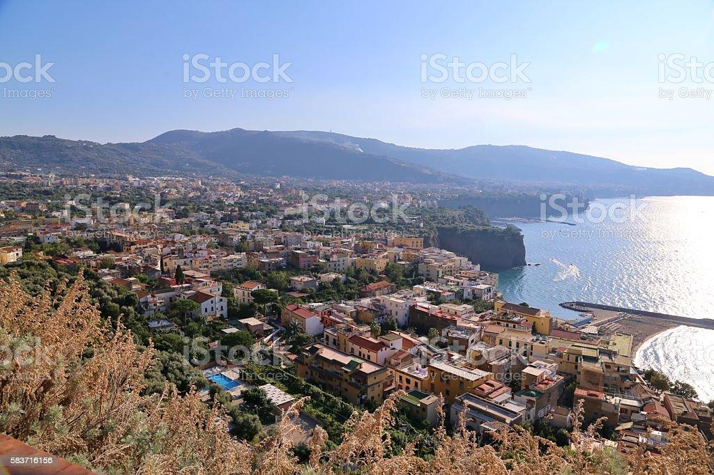 Sorrentino,  Italy-Panorama stock photo