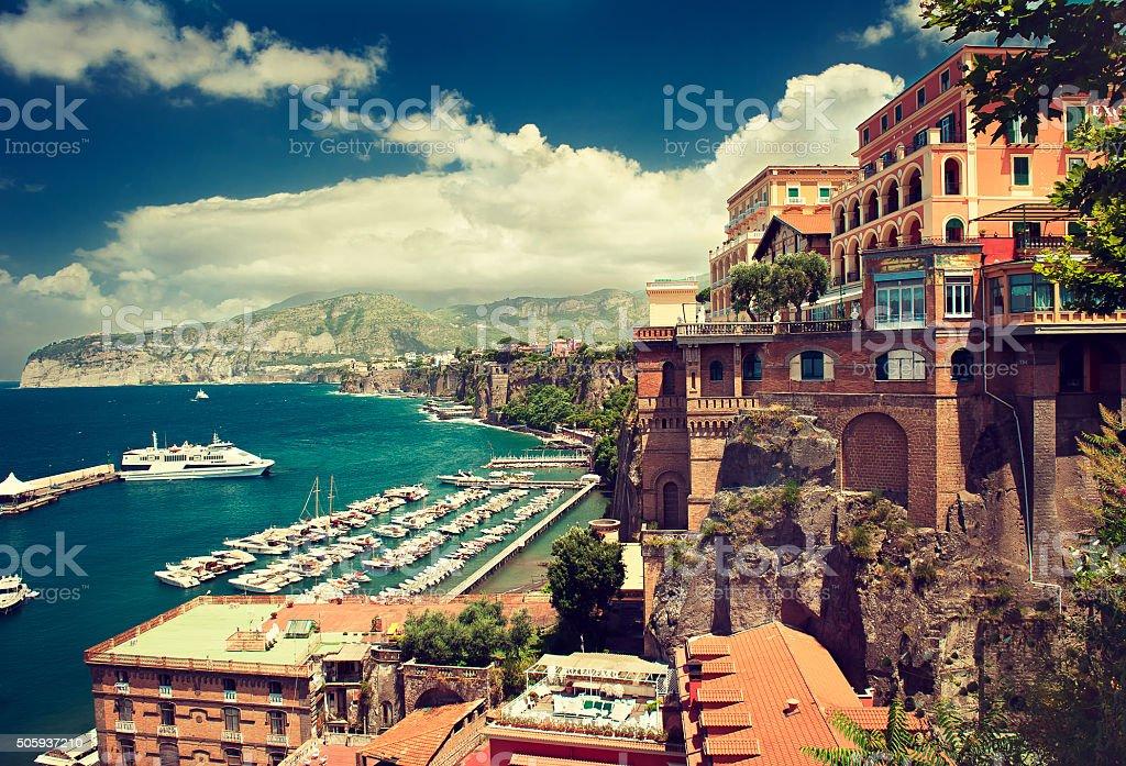 Sorrento. Amalfi coast. Italy. stock photo