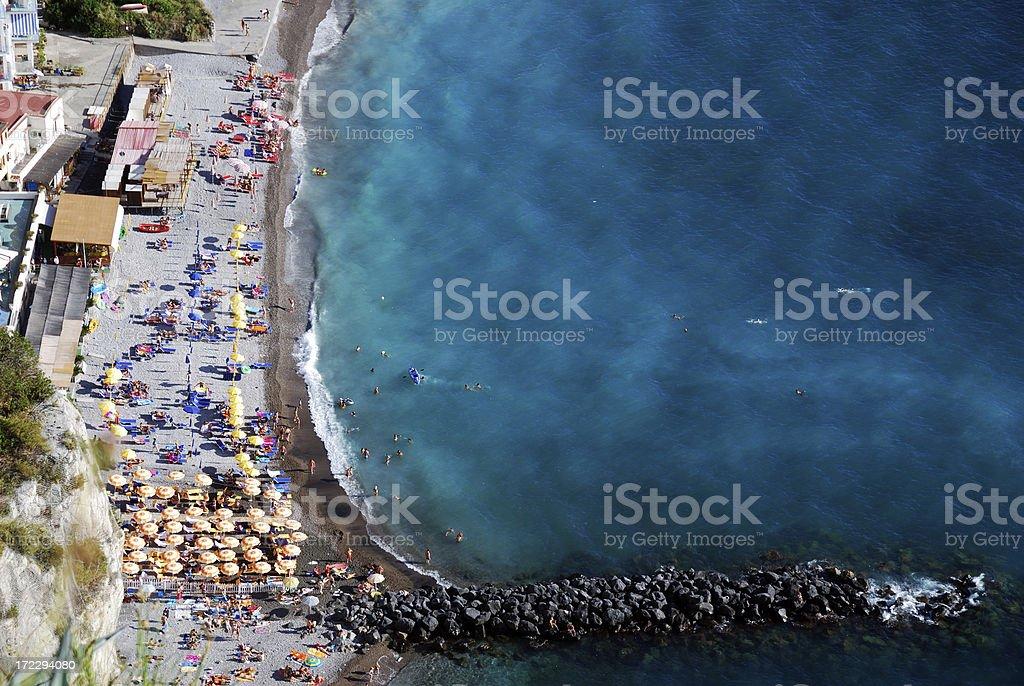 Sorrento Beaches stock photo
