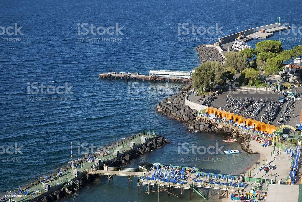 Sorrento coast, Sea, Beach, stock photo