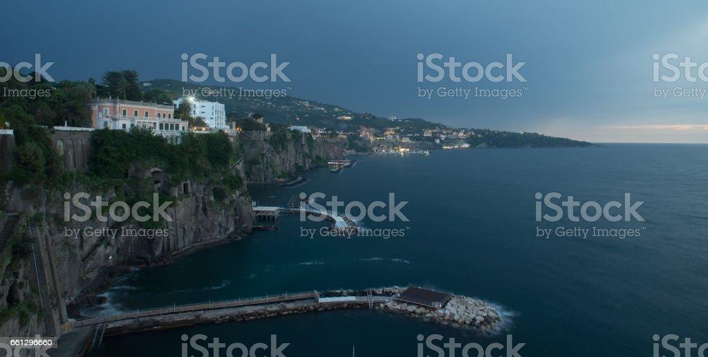 Sorrento in Italy stock photo
