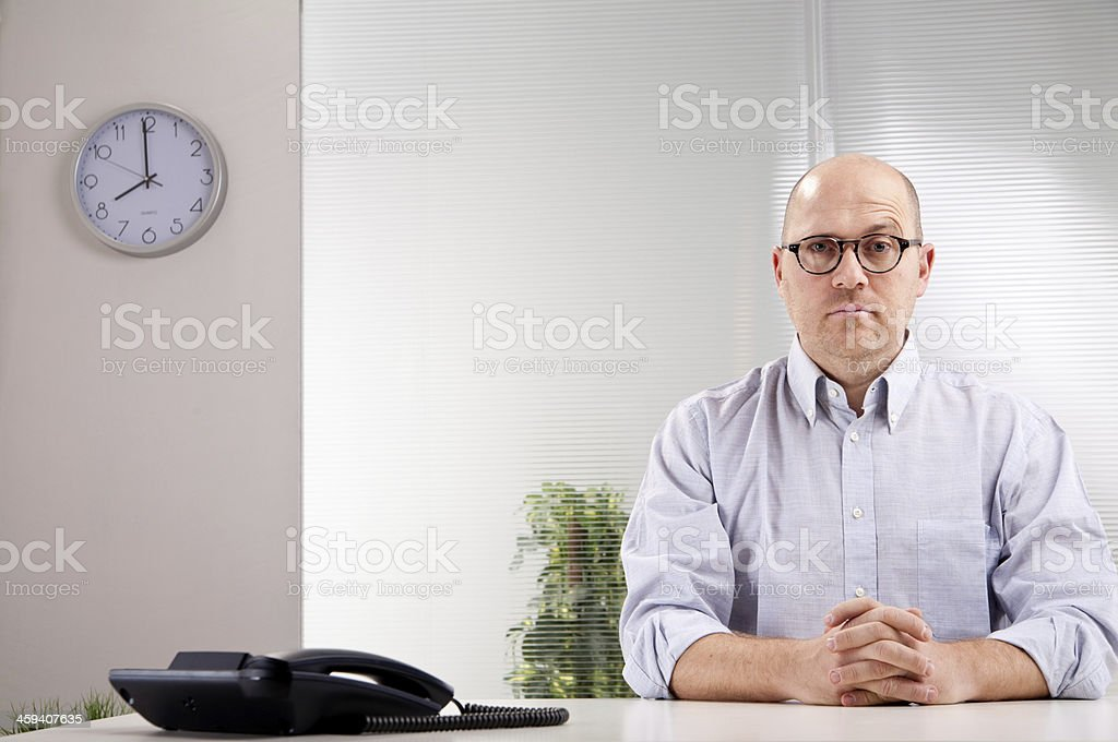 sorry, what did you say? stock photo