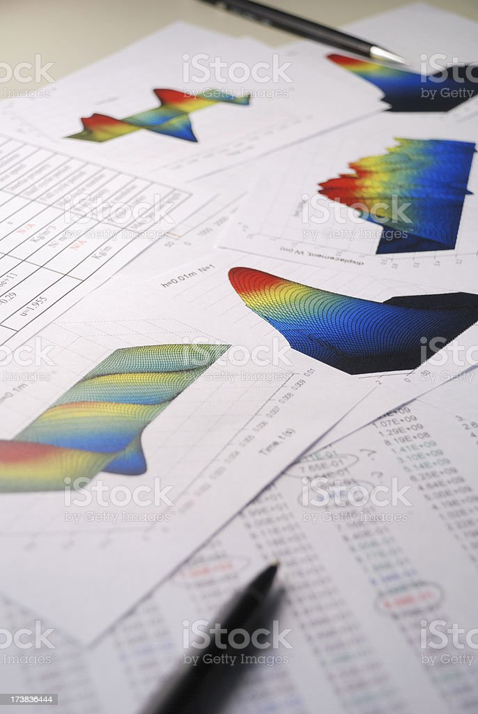 Sorting through the results royalty-free stock photo