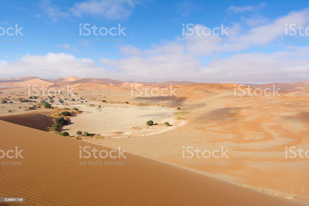 sossusvlei namib desert stock photo