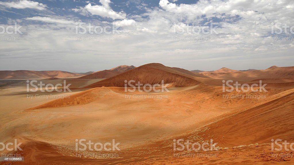 Sossusvlei, Namibia, Africa stock photo