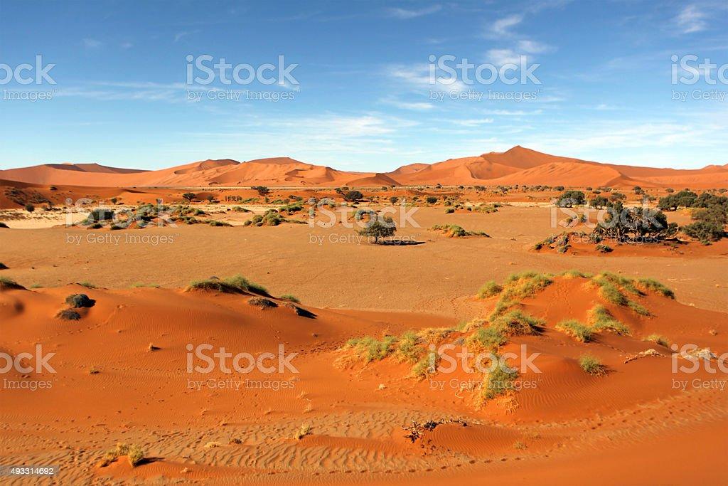 Sossusvlei Namibia stock photo