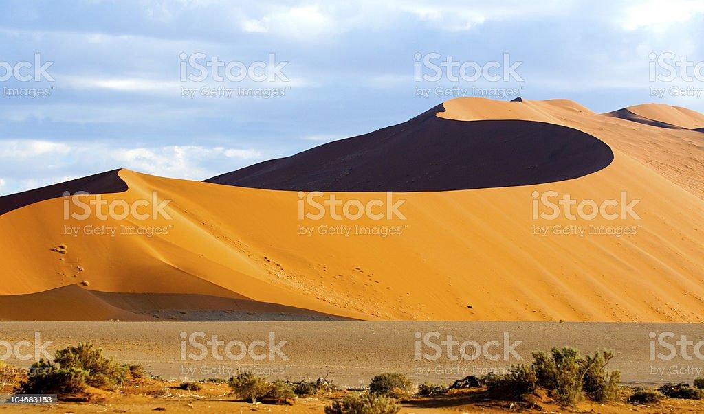 Sossusvlei Sand Dunes stock photo
