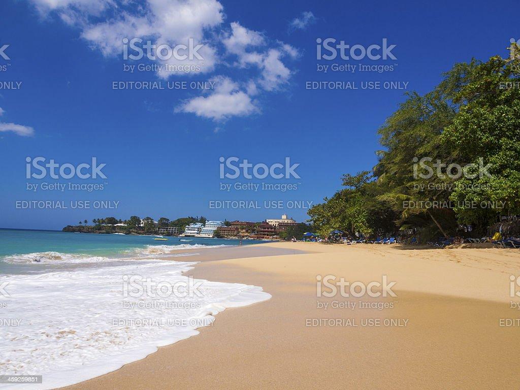 Sosua Beach, Dominican Republic stock photo