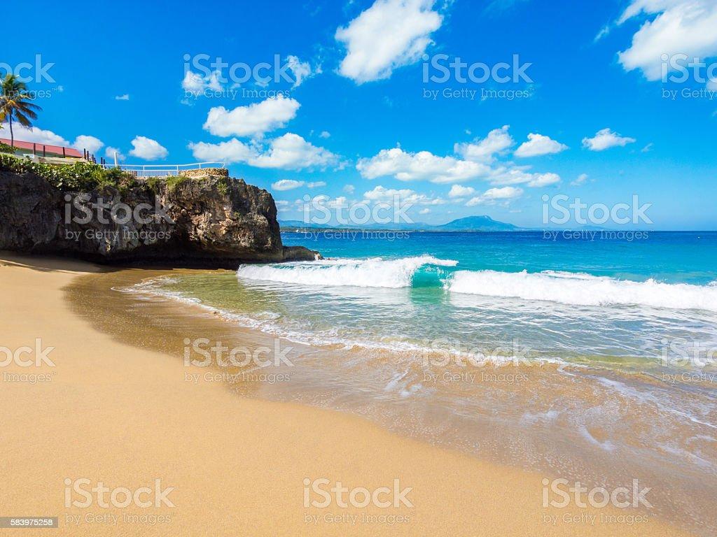 Sosua Beach stock photo