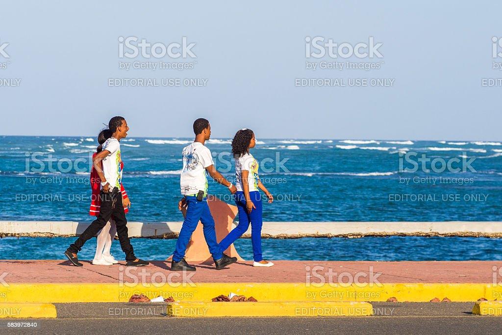 Sosua, Dominican Republic stock photo