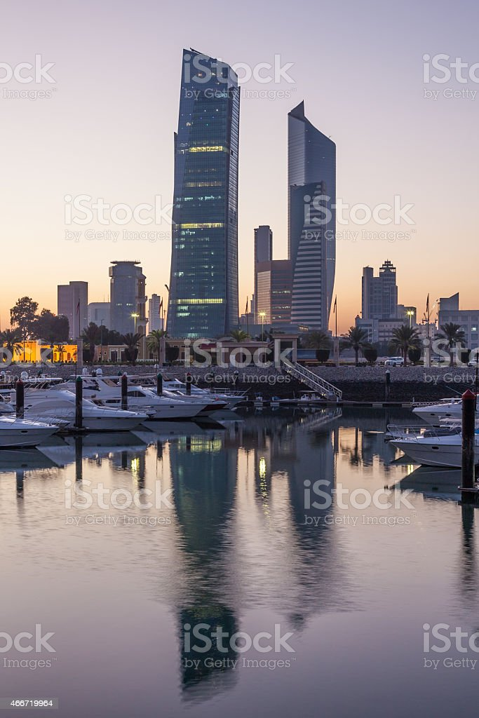 Souk Sharq in Kuwait City stock photo
