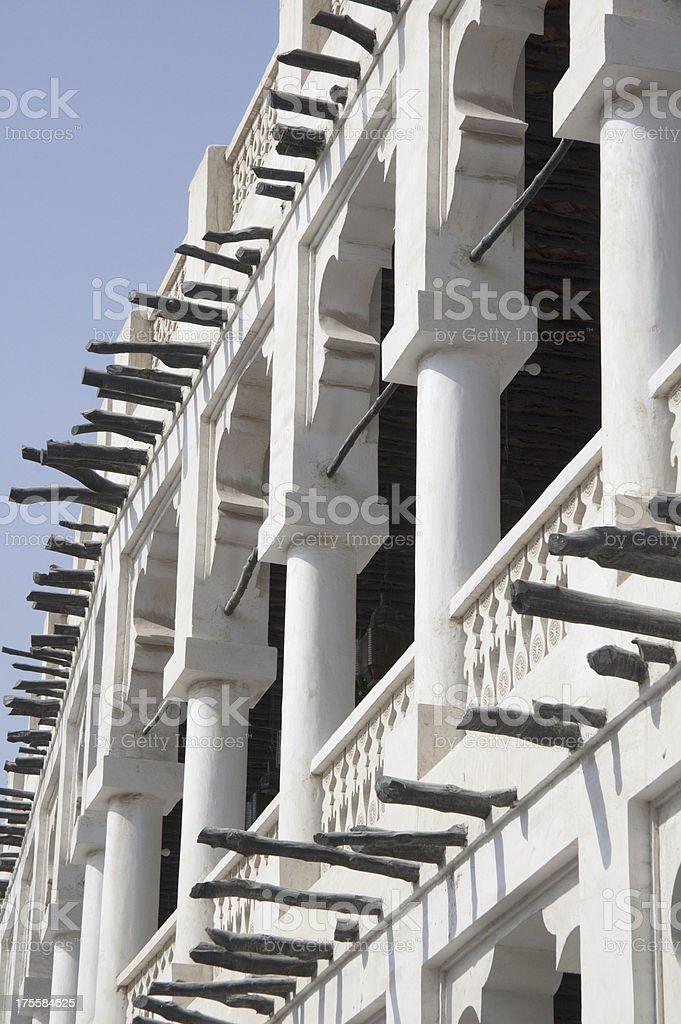 Souk Wakif Architechure stock photo