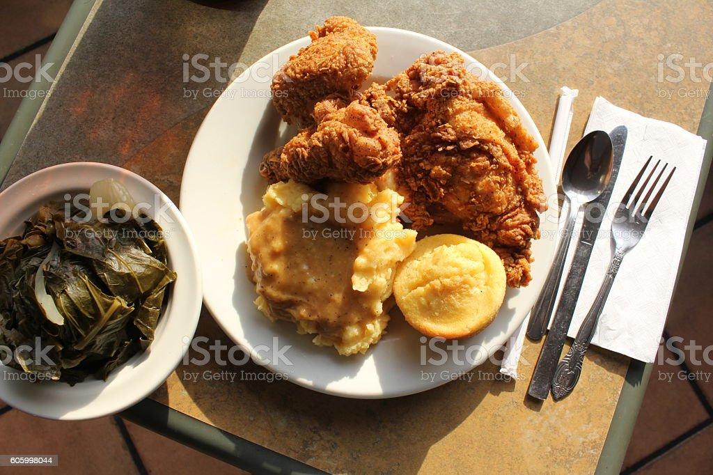 Soul food 3 stock photo