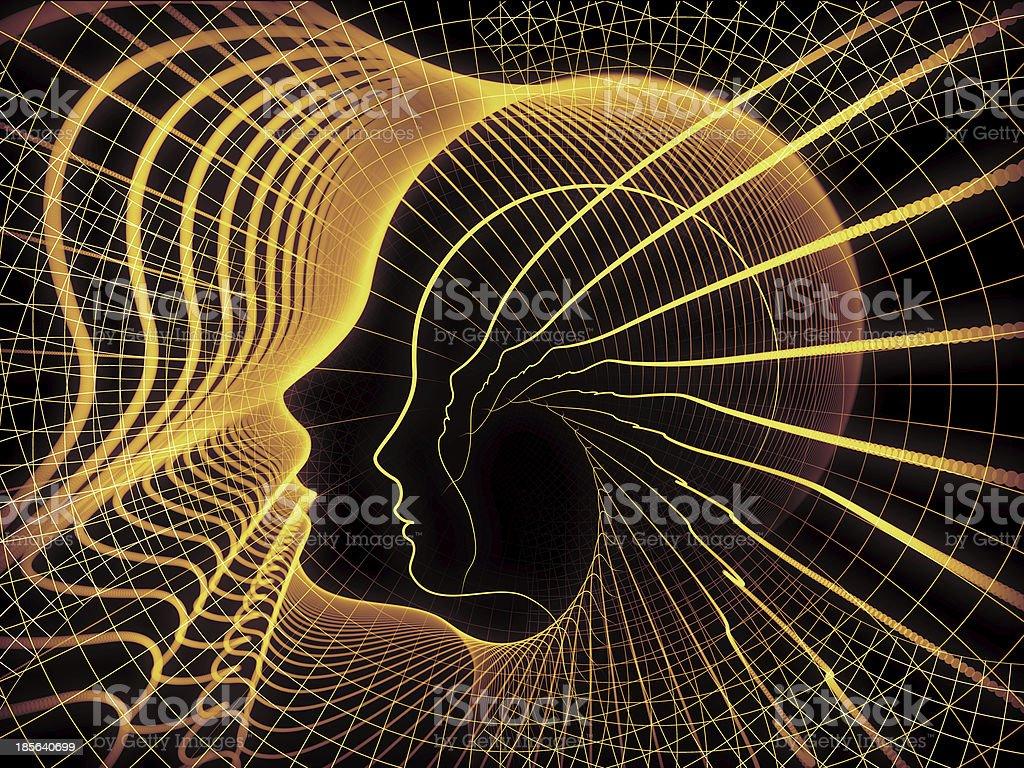 Soul Geometry Propagation royalty-free stock photo
