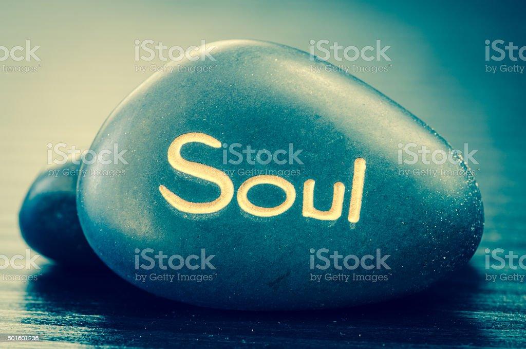 soul lava stone stock photo