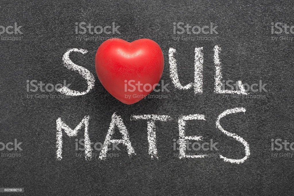 soul mates heart stock photo