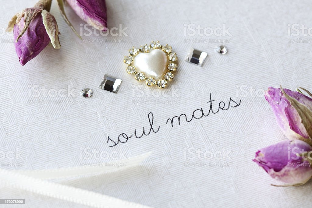 Soul Mates. royalty-free stock photo