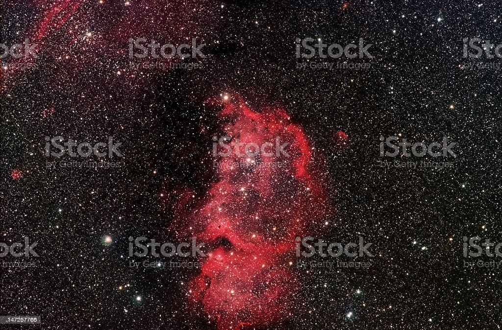 Soul Nebula stock photo