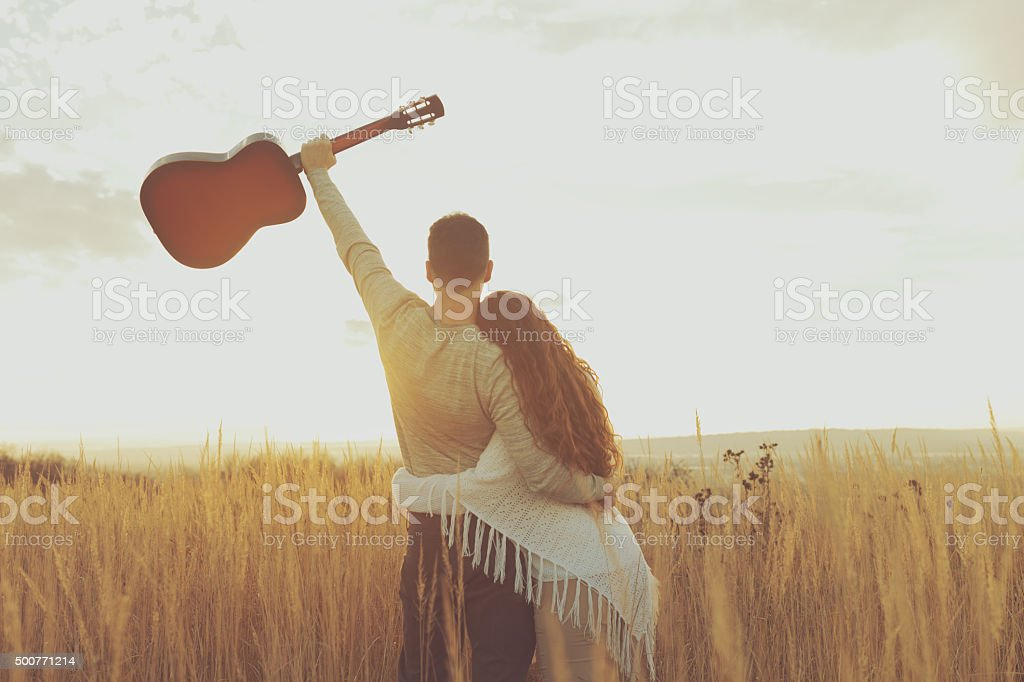 Soul-Searching Together stock photo