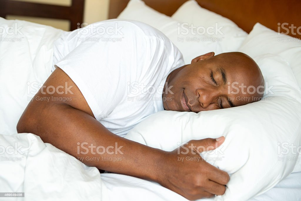 Sound Asleep stock photo