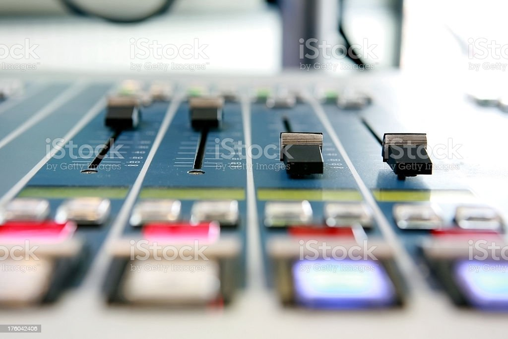 sound control sytem stock photo