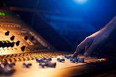 Sound Engineer Hand