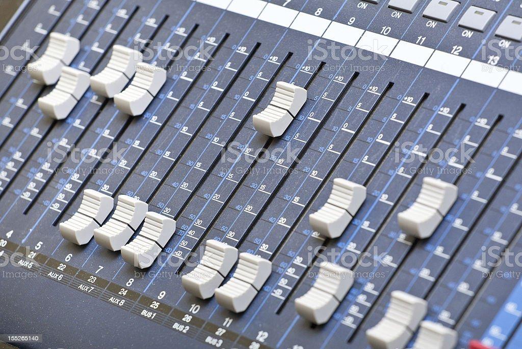 sound engineering stock photo