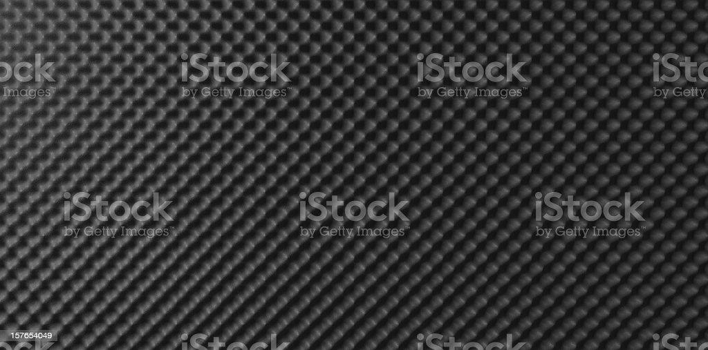Sound Foam Top stock photo