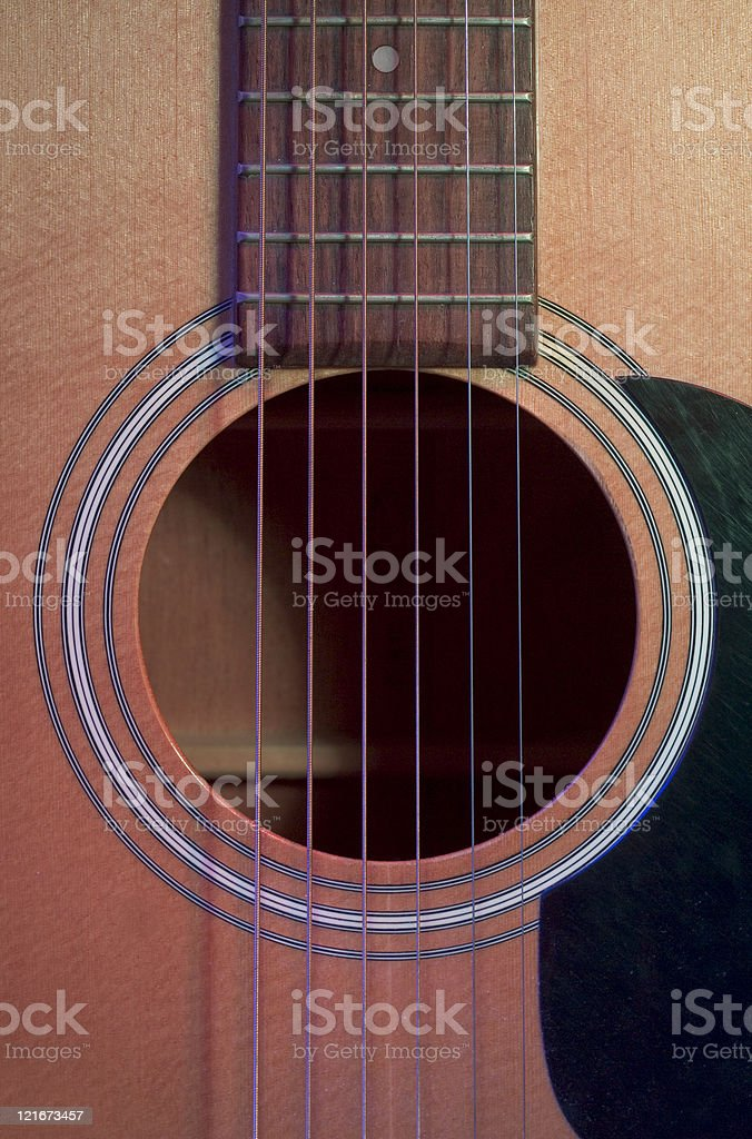 Sound Hole stock photo