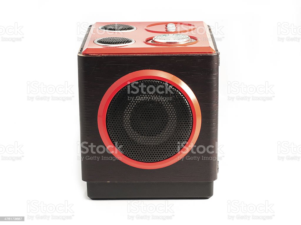 sound loud speaker stock photo