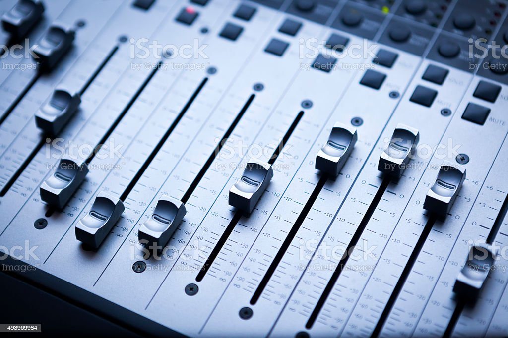 Sound Mixing stock photo