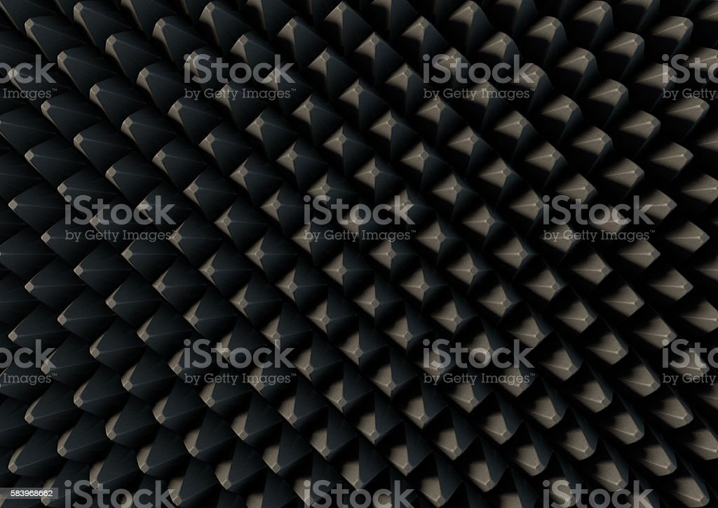 Sound Proof Foam stock photo