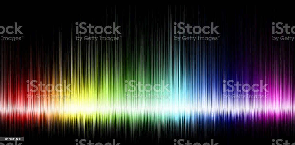 Sound wave background stock photo