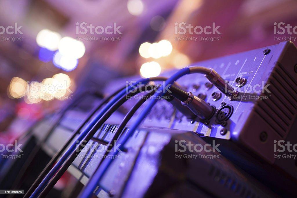 Soundboard stock photo