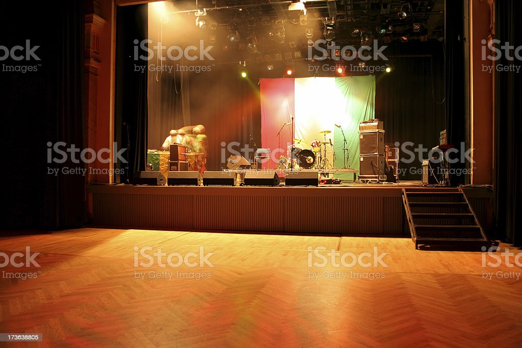 soundcheck stock photo