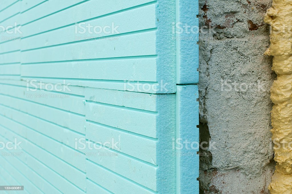 Soundproofing and insulation stock photo
