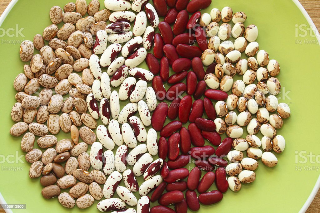 Soup Beans VII royalty-free stock photo