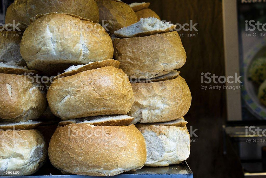 Soup Loafs stock photo