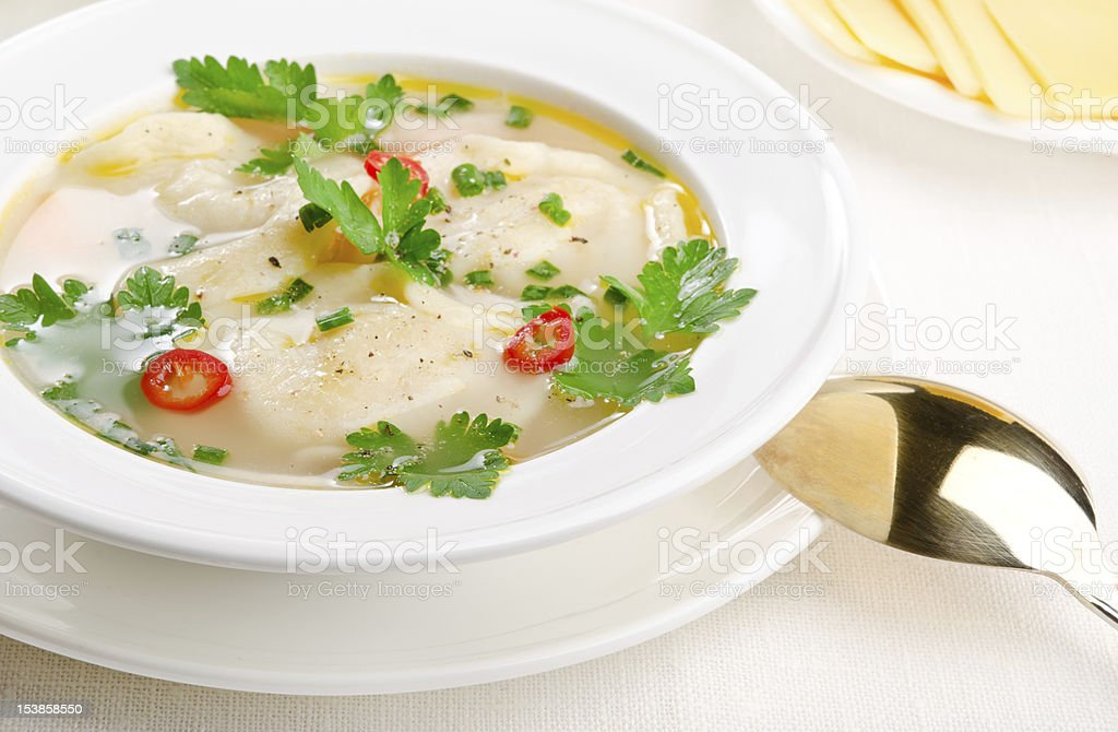 Soup royalty-free stock photo