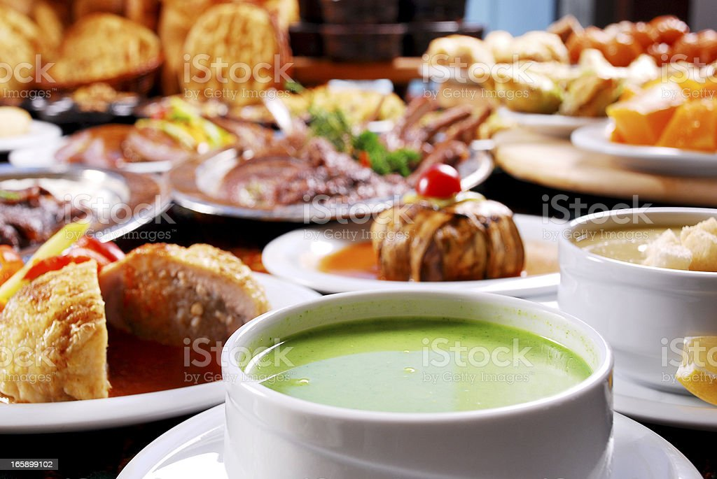 Soup (Click for more) royalty-free stock photo