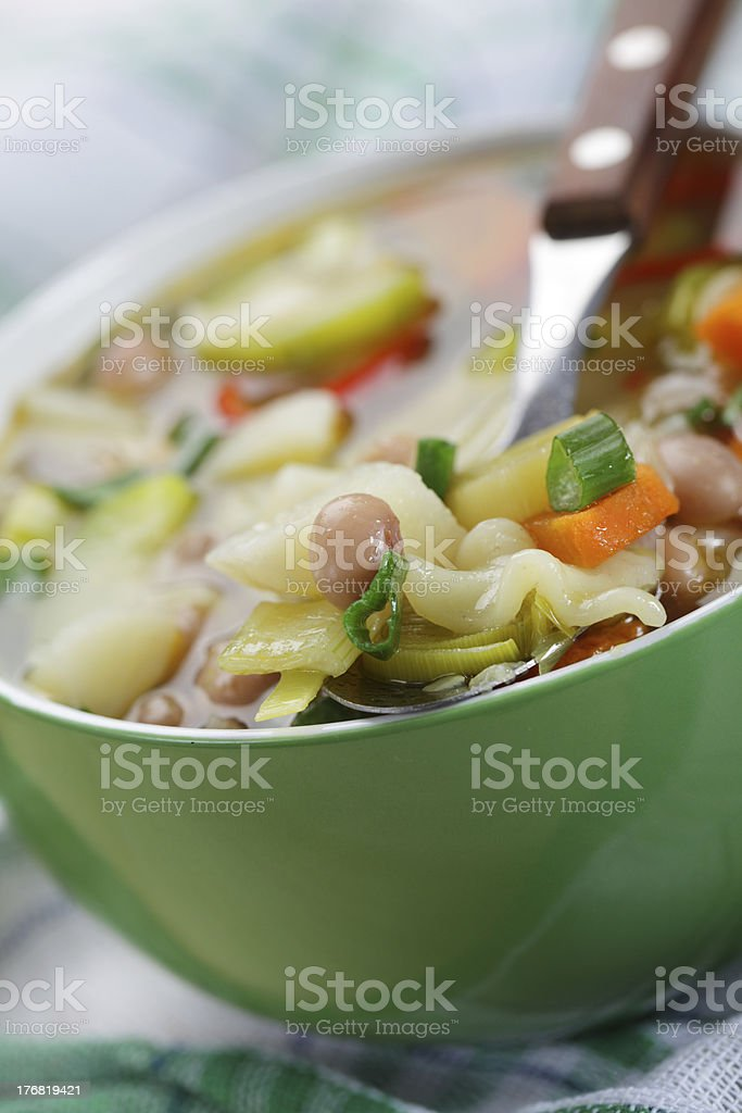 Minestrone royalty-free stock photo