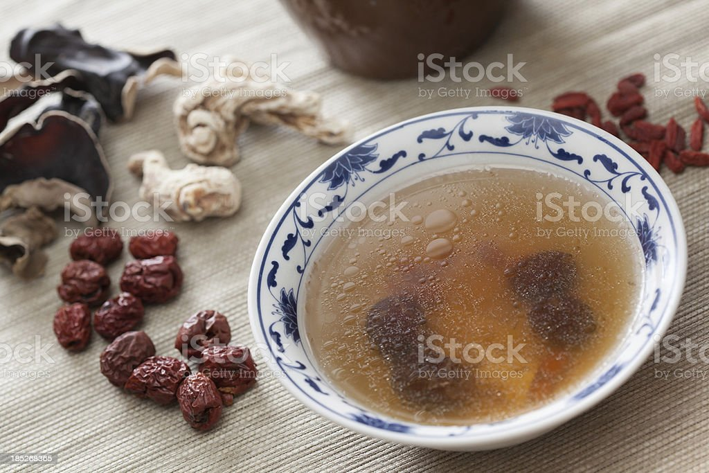 TMC soup royalty-free stock photo