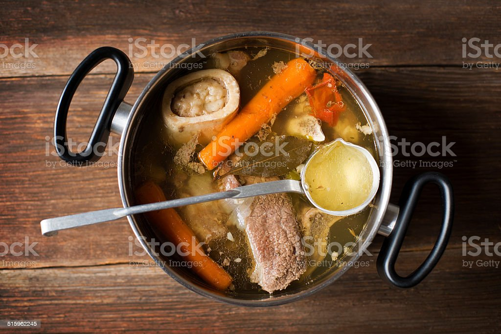 Soup stock photo