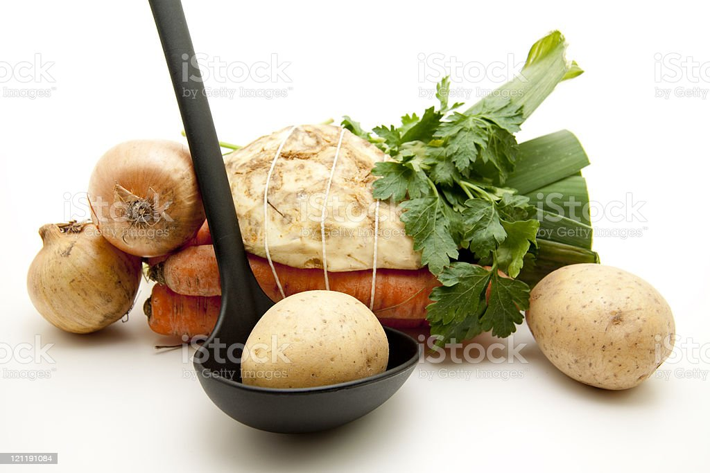 Soup vegetable stock photo