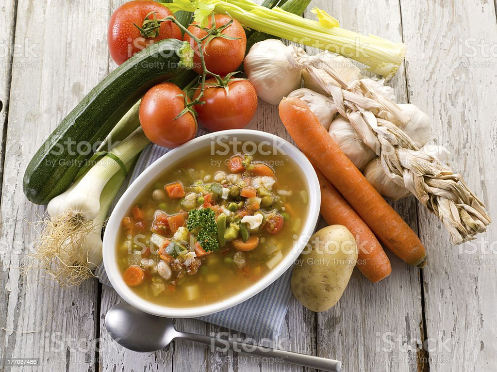 soup vegetable royalty-free stock photo