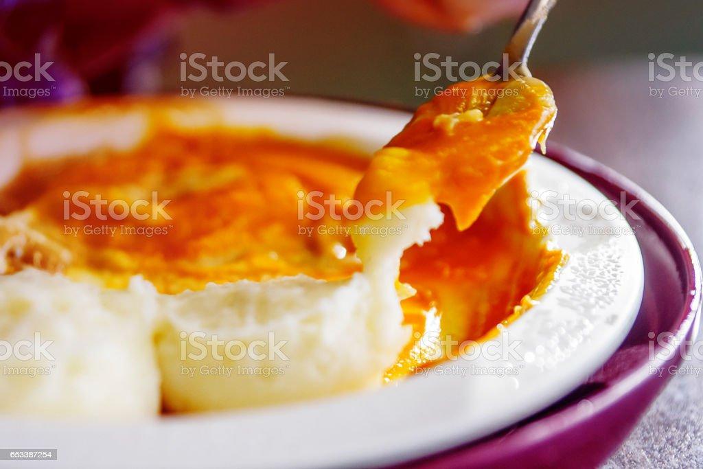 Souper en purée stock photo