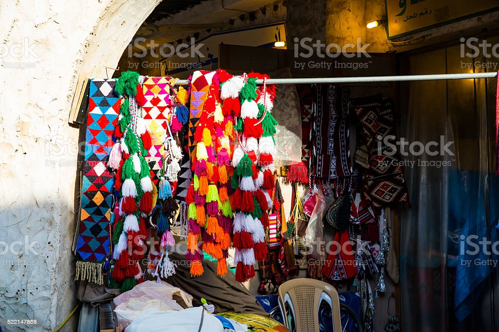 Souq Waqif . Doha, Qatar, Middle East stock photo
