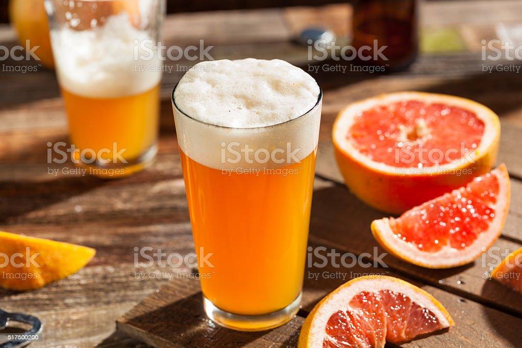 Sour Grapefruit Craft Beer stock photo