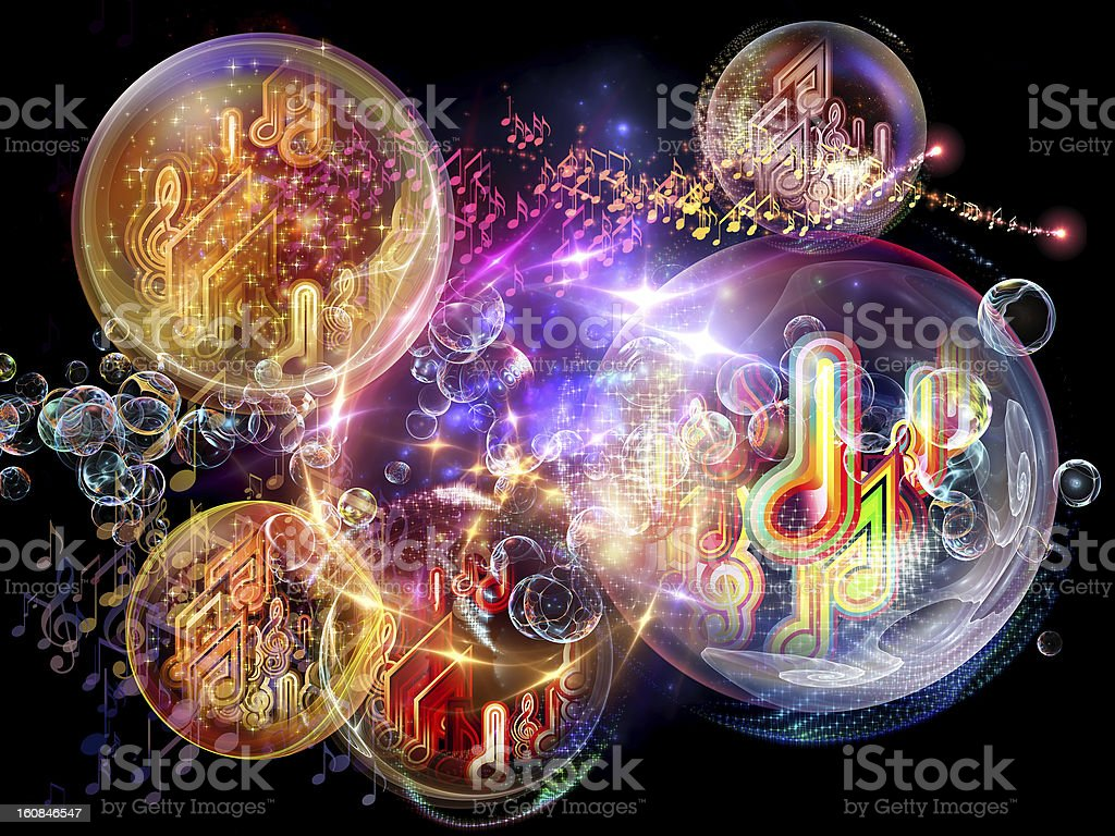 Source of Music stock photo
